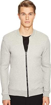 ATM Anthony Thomas Melillo Men's Thermal Stitch Bomber Jacket