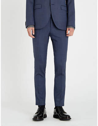 Tiger of Sweden Slim-fit birdseye stretch-wool skinny trousers
