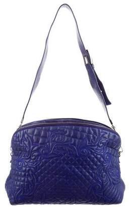 Gianni Versace Baroque Quilted Shoulder Bag
