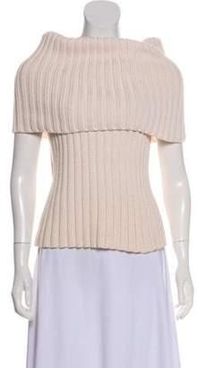Celine Sleeveless Rib Knit Top
