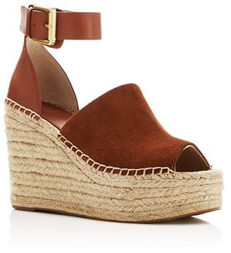 4103b9e80bf Marc Fisher Women s Adalyn Ankle Strap Espadrille Platform Wedge Sandals