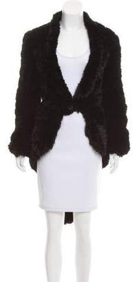 Givenchy Knitted Mink Jacket