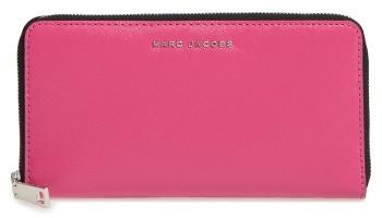 Marc JacobsWomen's Marc Jacobs Vertical Zippy Leather Wallet - Pink