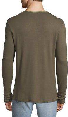 Joe's Jeans Men's Wintz Waffle-Stitch Henley T-Shirt