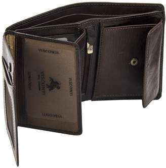 Visconti Tuscany 44 Secure RFID Blocking Genuine Leather Wallet