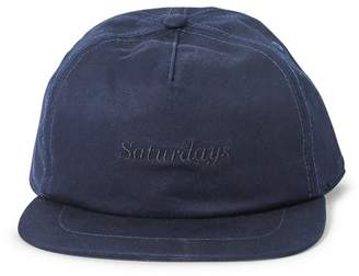 Saturdays NYC Stanley Italics Cap Navy