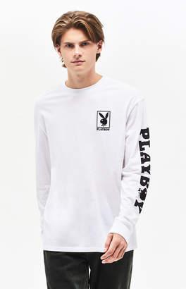 PacSun x Playboy Box Logo Long Sleeve T-Shirt