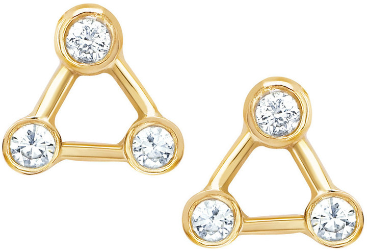 Logan Hollowell - New! Mini Summer Triangle Constellation Earrings 8503684547