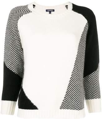 Woolrich colour block sweater