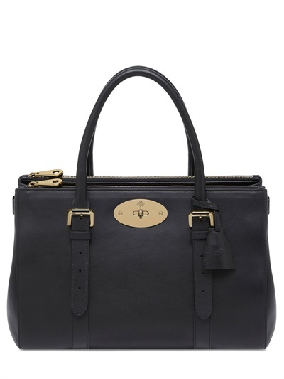 Mulberry Bayswater Double Zip Leather Bag