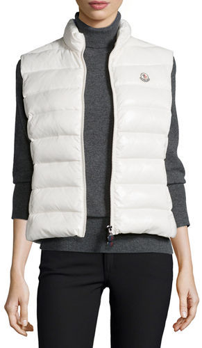MonclerMoncler Ghany Zip Puffer Vest