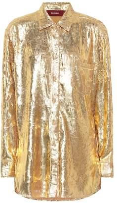 Sies Marjan Metallic shirt