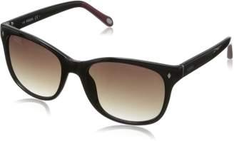 Fossil Women's FOS3006S Wayfarer Sunglasses