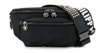 Philipp Plein logo strap belt bag