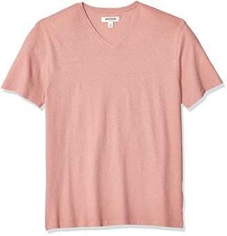 70f82815cf64 Goodthreads Men's Linen Cotton V-Neck T-Shirt