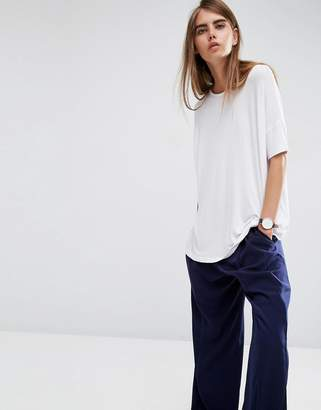 ASOS Oversized Drapey T-Shirt $22 thestylecure.com