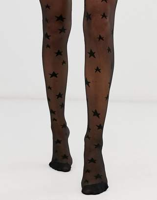 Asos Design DESIGN 20 denier star tights