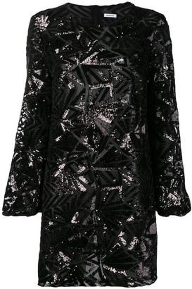 P.A.R.O.S.H. sequin short dress