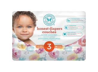 The Honest Company Diapers, Size 3, Rose Blossom