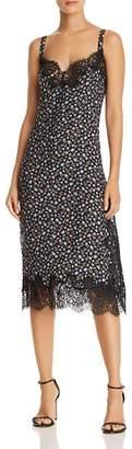 Rebecca Taylor Zelma Floral Silk Slip Dress