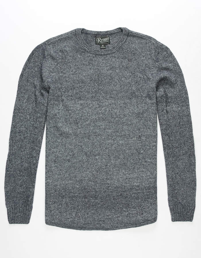 Retrofit Ian Destructed Mens Sweater