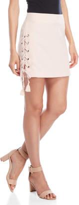 Rebecca Minkoff Dylan Lace-Up Side Skirt