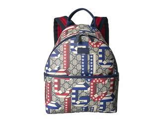 34c447af36e Gucci Kids GG Supreme Backpack (Little Kids Big Kids)