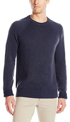 Michael Stars Men's Crew Neck Raglan Sleeve Pullover Sweater