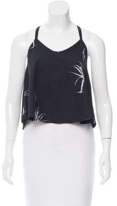 Veda Silk Crop Top w/ Tags