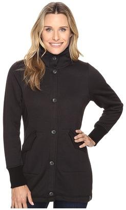 Woolrich Alpine Wool Fleece Long Coat $129 thestylecure.com