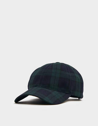 A.P.C. Abigaelle Hat in Green Plaid