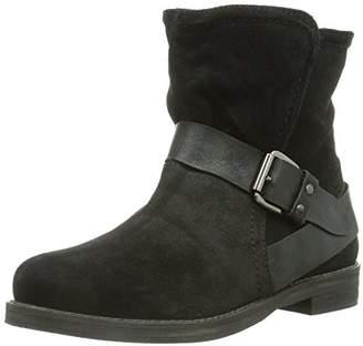 Dockers Womens 354032-141001 Unlined slip-on boots short length Black Schwarz (schwarz 001) Size: 4 UK