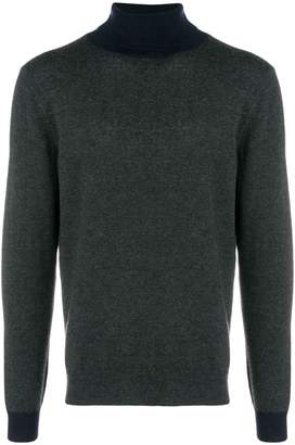 Altea two-tone turtleneck sweater