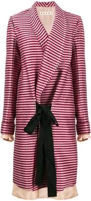 Marni oversized striped coat