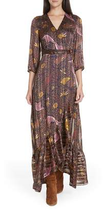 BA&SH Disy Pleated Maxi Dress