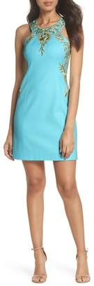 Lilly Pulitzer R) Tina Stretch Sheath Dress