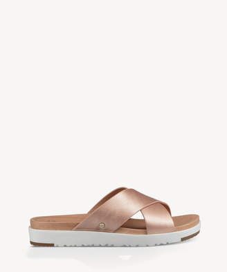 UGG Women's Kari Metallic In Color: Rose Gold Shoes Size 6 Suede From Sole Society