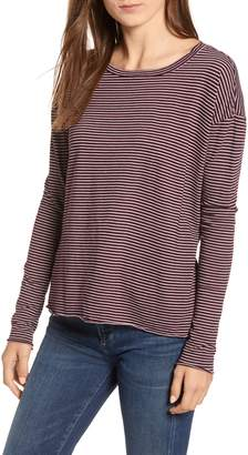Frank And Eileen Core Stripe Long Sleeve Tee