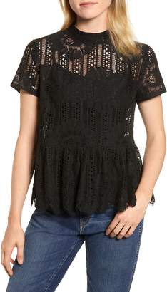 Everleigh Short Sleeve Lace Top