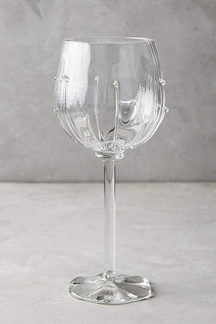 Anthropologie Anthropologie Mirlet Red Wine Glass