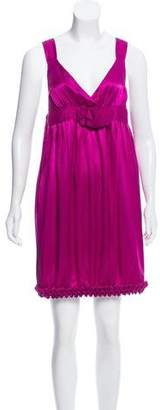 See by Chloe Silk Sleeveless Dress