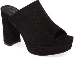 Jeffrey Campbell Pilar 2 Platform Slide Sandal