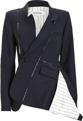 Monse Deconstructed Slashed Blazer