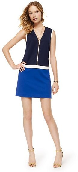 Juicy Couture Ponte Colorblocked Dress