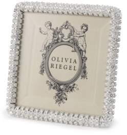 """clear Olivia Riegel """"Chelsea Diamond Pavé Frame, 4"""" x 4"""""""