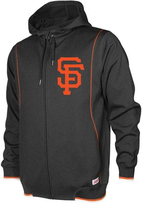 Stitches Men's Black San Francisco Giants Logo Full-Zip Hoodie