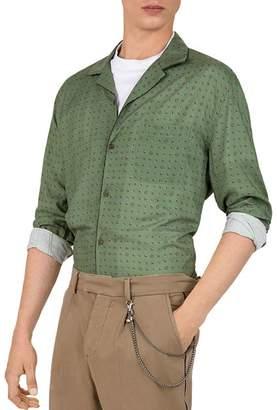 The Kooples Paisley-Print Regular Fit Shirt