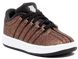 K-Swiss Classic VN Sparkle Low Top Sneaker (Toddler)