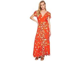 Free People Gorgeous Jess Wrap Dress Women's Dress