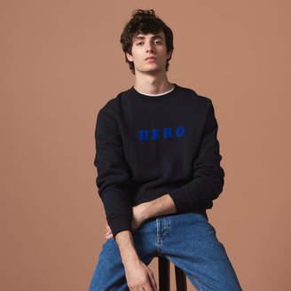 Sandro Hero Flocked Sweatshirt